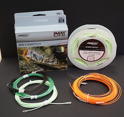 Compact Headset (Rage Compact Head Kit Airflo 640 grain #9/10 Zweihand Schusskopf Super Set 99€)