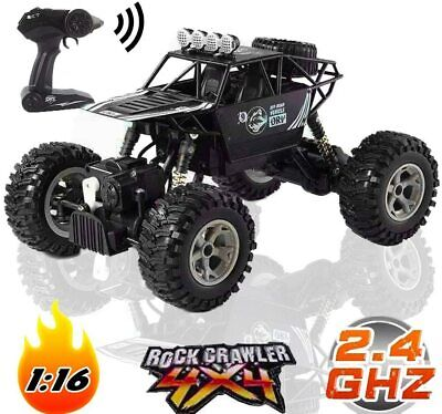 2.4Ghz Off Road RC High Speed Racing Car 1/16 Remote Control Monster 4WD Truck