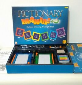 pictionary mania board game