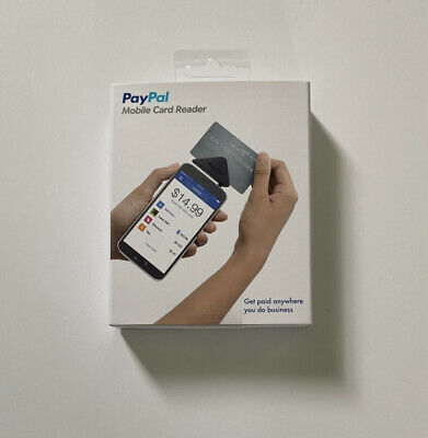 Paypal Mobile Credit Card Reader Swiper For Android Windows Ios Brand New Sealed