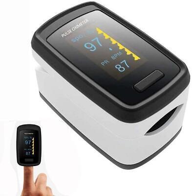 Finger-clamp Medical Oximeter Pulse Blood Oxygen Spo2 Pr Saturation Monitor