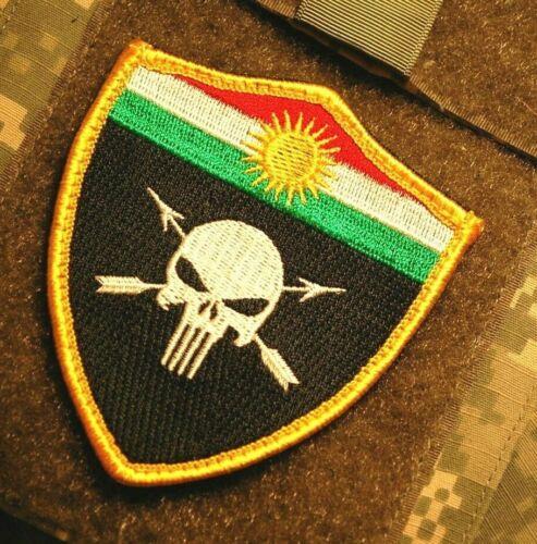Anti-Isis Syria-Iraq Kurdish SP OPS KTCC Fighter PESHMERGA پێشمەرگە Flag Patch