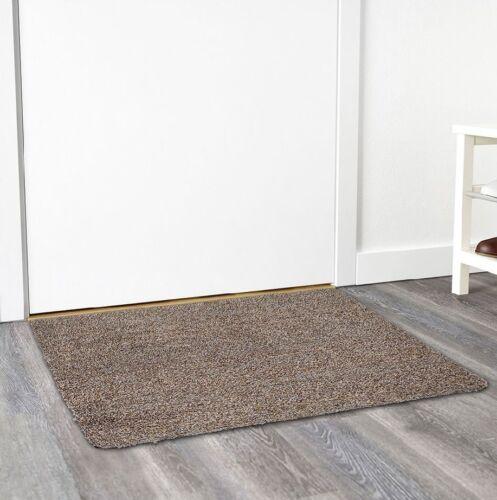 Super Clean Mat Super Absorbant Door Mat with Non Slip Backi