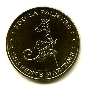 17 LES MATHES Zoo, Girafe et mascotte, 2015, Monnaie de Paris - France - Type: Monnaie de Paris Thme: Animaux Epoque: XXIme sicle Genre: Médaille Touristique Année: 2015 Métal: Nordic Gold - France