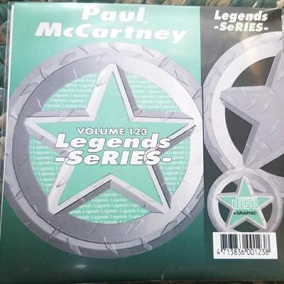 LEGENDS KARAOKE CDG PAUL MCCARTNEY POP OLDIES #123 17 SONGS CD+G LIVE & LET DIE