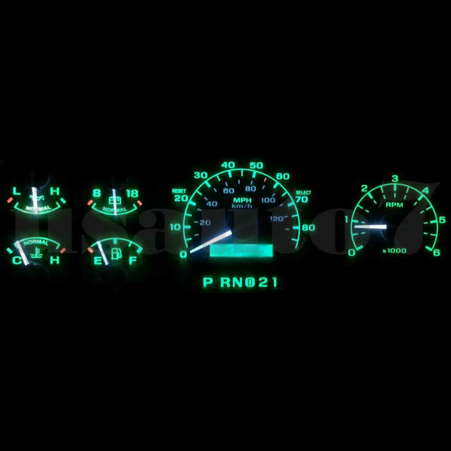 Blue LED Package Instrument Cluster Dash Light Bulb Fit 99-02 Ford Expedition
