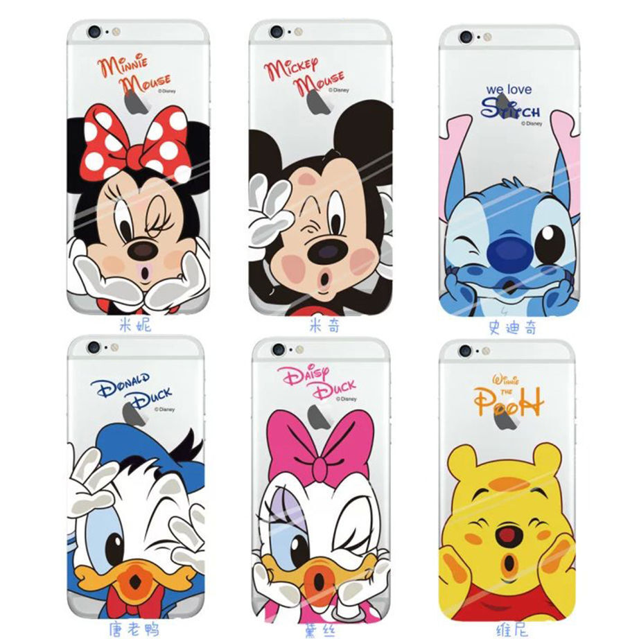 DISNEY CARTOON SOFT Clear Case Cover