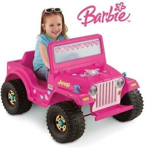 NEW FISHER PRICE 6V BARBIE JEEP X6655 238945048 RIDE ON KIDS TOY Power Wheels