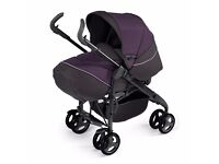 Silver Cross 3D Classic Damson Carriage Single Seat Stroller Pushchair Pram - Barely Used Mint