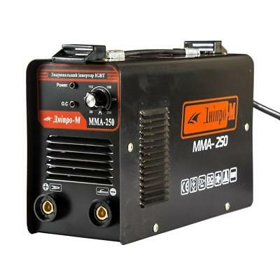 New Portable Welding Inverter Machine Dnipro-m Model Mma 250 Igbt 8800w