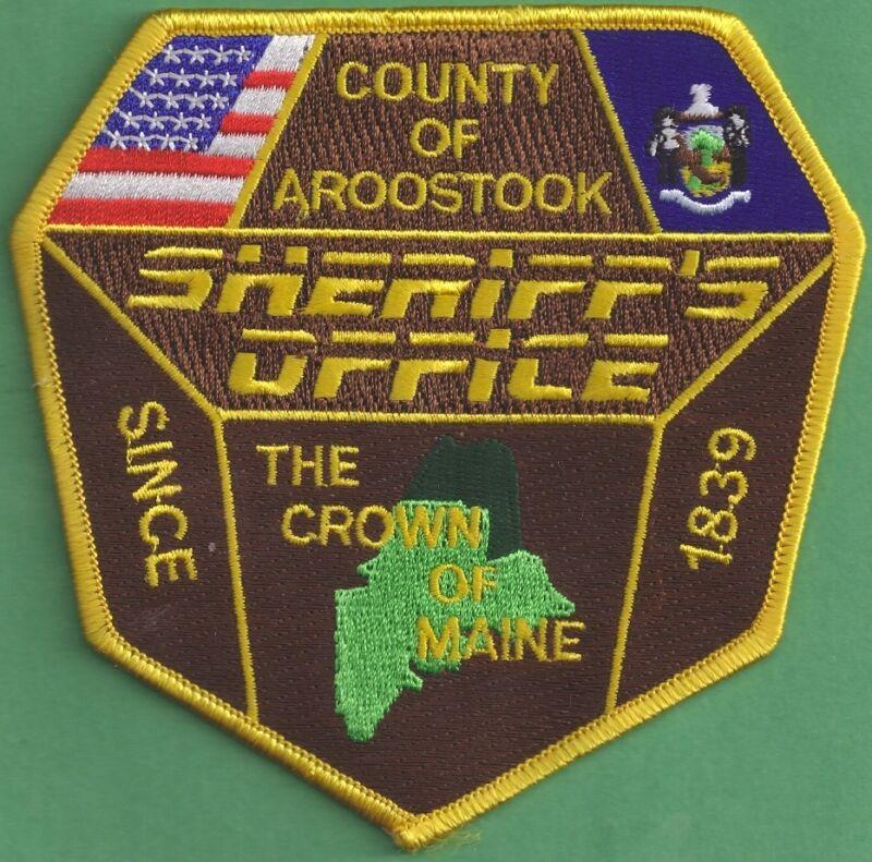 NEW Obsolete Aroostook County, Maine Sheriff