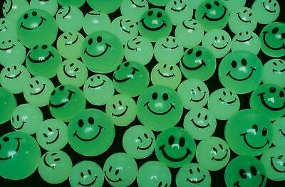 Glow In The Dark Bouncy Balls (144 Glow In The Dark Smiley Face Emoji Bouncy Super Balls Vending machine)
