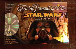 Star Wars Trivial Pursuit DVD Saga Edition
