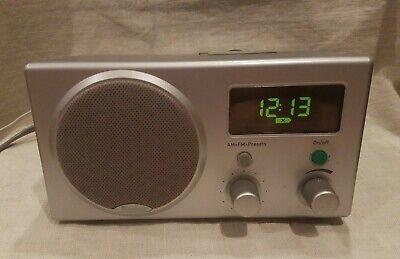 Boston Acoustics Recepter AM/FM Digital Clock Radio, Nice