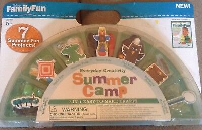 Disney Family Fun 7-In-1 Easy To Make Creative Craft Set For Summer Camp Age 5+](Crafts For Summer)