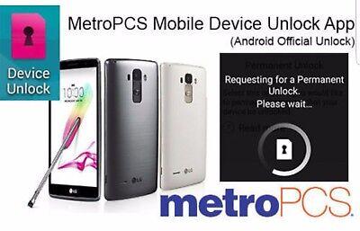 Metropcs Device Unlock App For Htc All Samsung  Lg  Kyocera  Alcatel  Zte