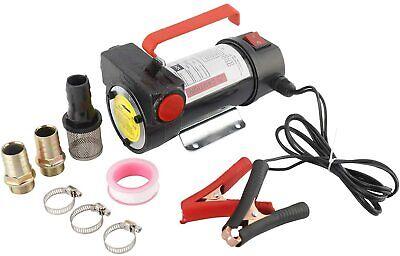 Realplus 12v Electric Fuel Oil Diesel Transfer Extractor Pump Power150w