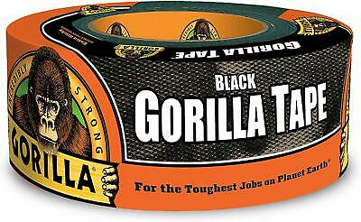 Gorilla Tape Black Duct Tape 1.88 X 12 Yd Black Pack Of 1