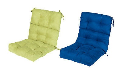 Chair Cushion Home Garden Folding Seat Back Cushions Rounded Pad Bistro Set Mat ()