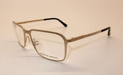 Porsche Design P 8293 Men Eyewear Optical Frame Titanium DEMO Lens Pale Gold Z8