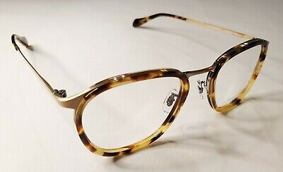 Oliver Peoples Townsend RX Eyeglasses Tortoise / Antique Gold OV1106T 5124 50 mm