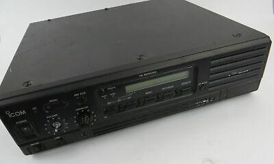 Icom Ic-fr4000-3 50 Watt 450-480 Mhz Uhf Fm Radio Repeater - Missing Volume Knob