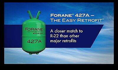 R-22 R22 Arkema R-427a Refrigerant 25 Lb. Cylinder R22 Replacement