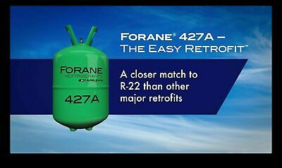 R-427a 25 Lb Factory Sealed Virgin Refrigerant Gas R-22 Replacement