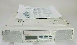 Sony White Under Cabinet CD Player Clock Radio Model ICF-CD513 Manual, Screws