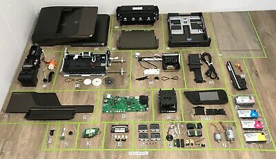 Hp Printer Parts - HP officejet Pro 8600 Premium Inkjet Printer Part Lots Replacement Repair OEM