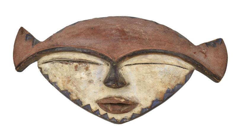 Lualua Lwalwa Mask Congo African Art