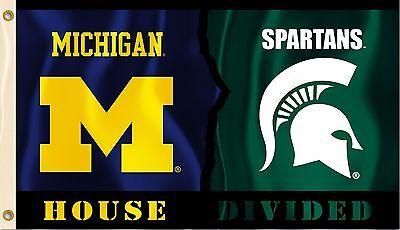 Michigan Wolverines Michigan State Spartans 3