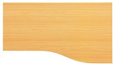 Schreibtischplatte Holz 180 x 80/100 Buche Neu + OVP