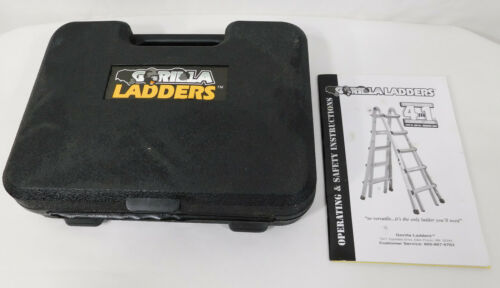 Gorilla Ladders Static Hinge Set with Case ~ Great Condition! ☆ Hinges allow lad
