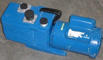 Leybold D16a Rotary Vane Vacuum Pump D-16 Rebuilt