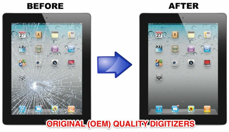Apple Ipad 6th Gen Digitizer Screen Replacement Repair Service Fast A1893 A1954