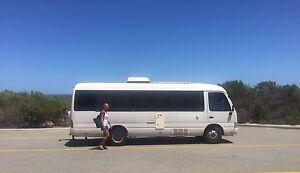 Toyota Coaster Bus Ashwood Monash Area Preview