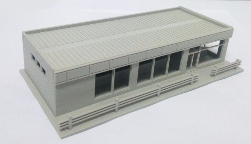 Outland Models Railway Modern City Roadside Convenience Store HO OO Scale