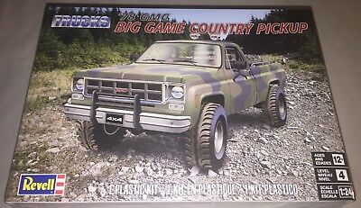 Revell '78 GMC Big Game Country Pickup 1/24 model car truck kit new 7226 *