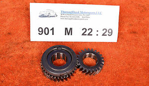 Porsche-904-901-Transmission-1-32-ratio-M-22-29-Nuerburgring-Gear-Set-3rd-RACE
