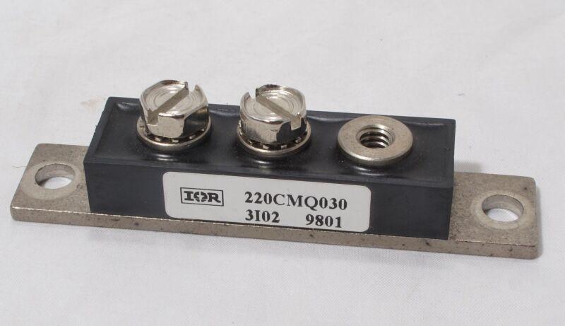 International Rectifier IR 220CMQ030 Schottky Rectifier 220Amp 30V