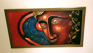 Buddha oil painting. Merrimac Gold Coast City Preview