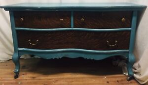 Compact Refinished Antique Maple Sideboard/Buffet