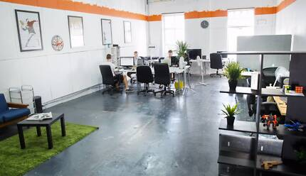 Creative coworking office space / desk space in great location. South Brisbane Brisbane South West Preview