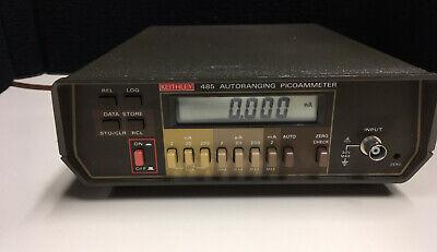 Keithley Instruments 485 Autoranging Picoammeter
