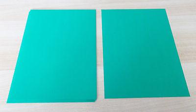 Weihnachten ~ Basteln: Artoz - Bastelpapier / DIN A4: 10x Grünes Papier..
