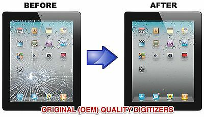Купить Glass Digitizer Screen Replacement Repair Service -For Apple iPad 2 3 4 Air 1