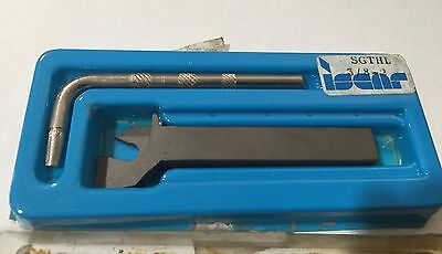 Iscar Sgthl 38- 2 Self Grip Tool Holder Carbide Inserts Turning Grooving New