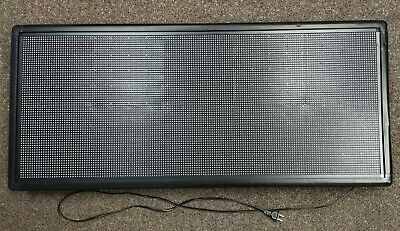 Outdoor P6 Full Color Led Sign 40x18 Support Scrolling Text Led Screen