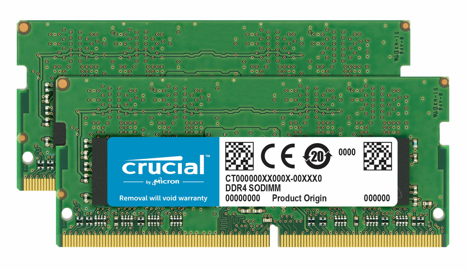 Crucial 32GB DDR4 KIT 2x 16GB 2666 MHz PC4-21300 SODIMM 260-